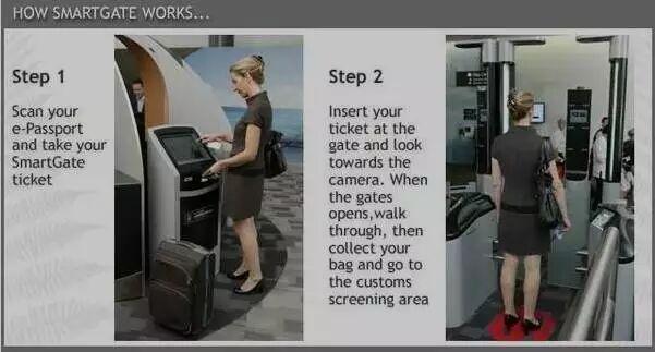 澳洲的这款自动过关系统叫做arrivals smartgate,方便快捷,是解决机场